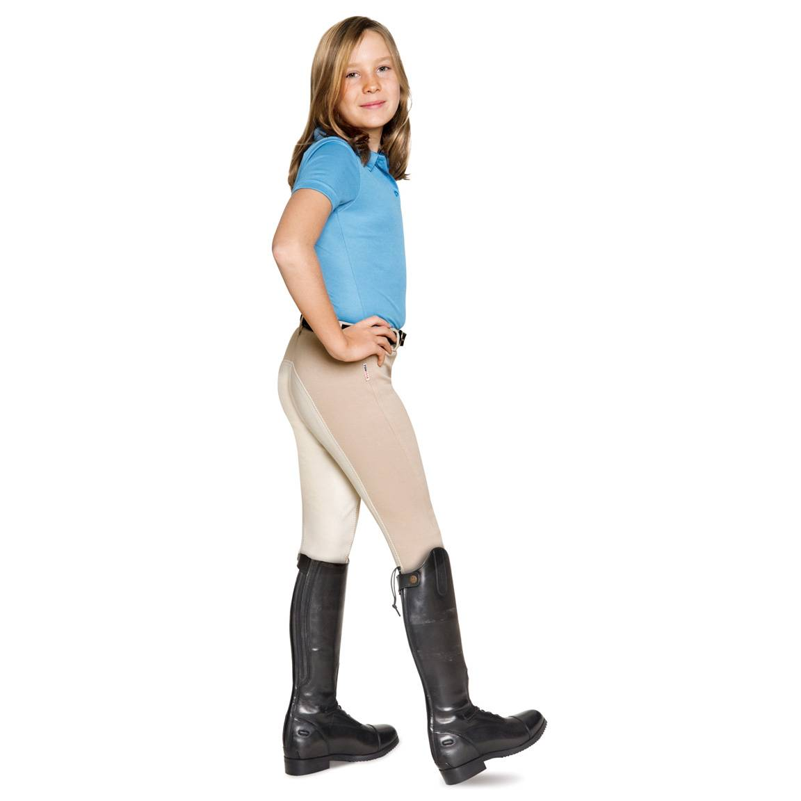 EquiStar Pull-On Full Seat Breeches - Kids