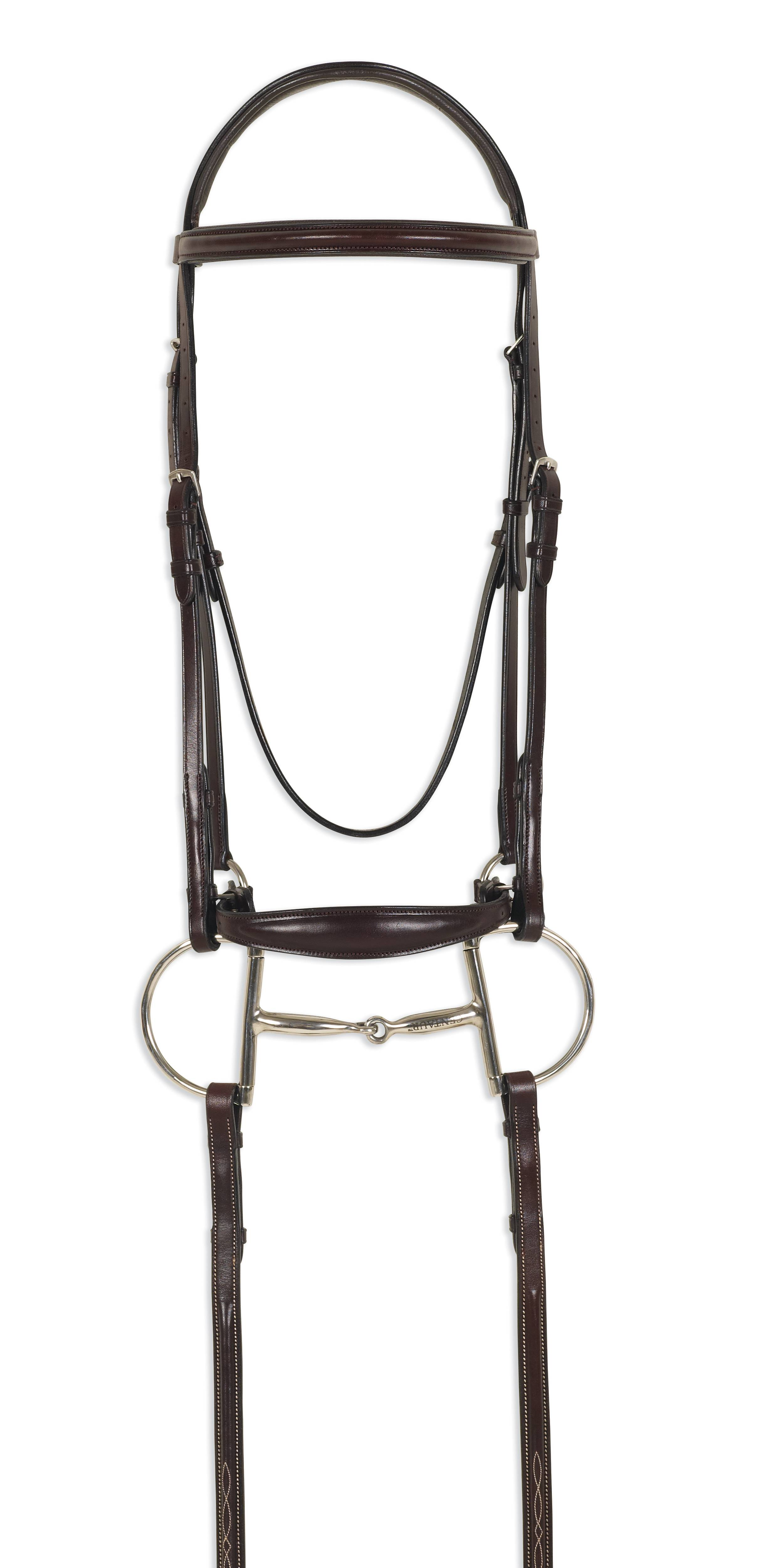 Ovation ATS Round Raised Plain Drop Nose Bridle