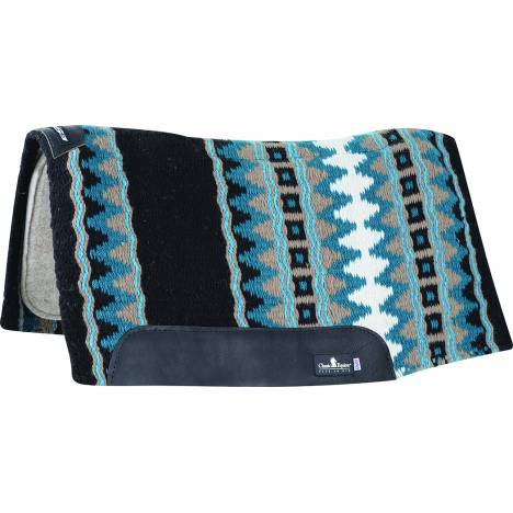 Classic Equine Esp Contoured Wool Western Pad - 32'' x 34'' x 3/4''