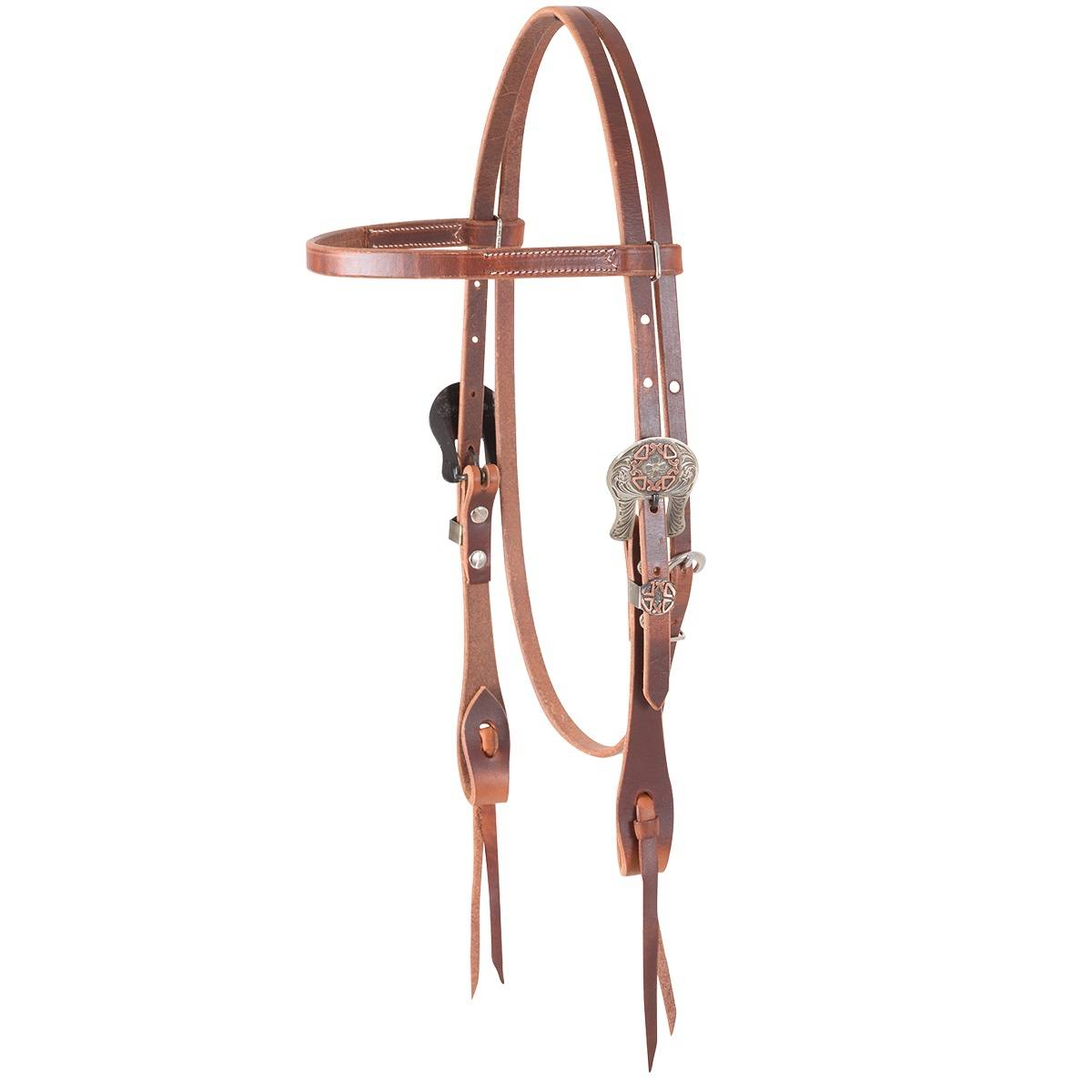 Martin Cowboy Diamond Buckle Browband Headstall