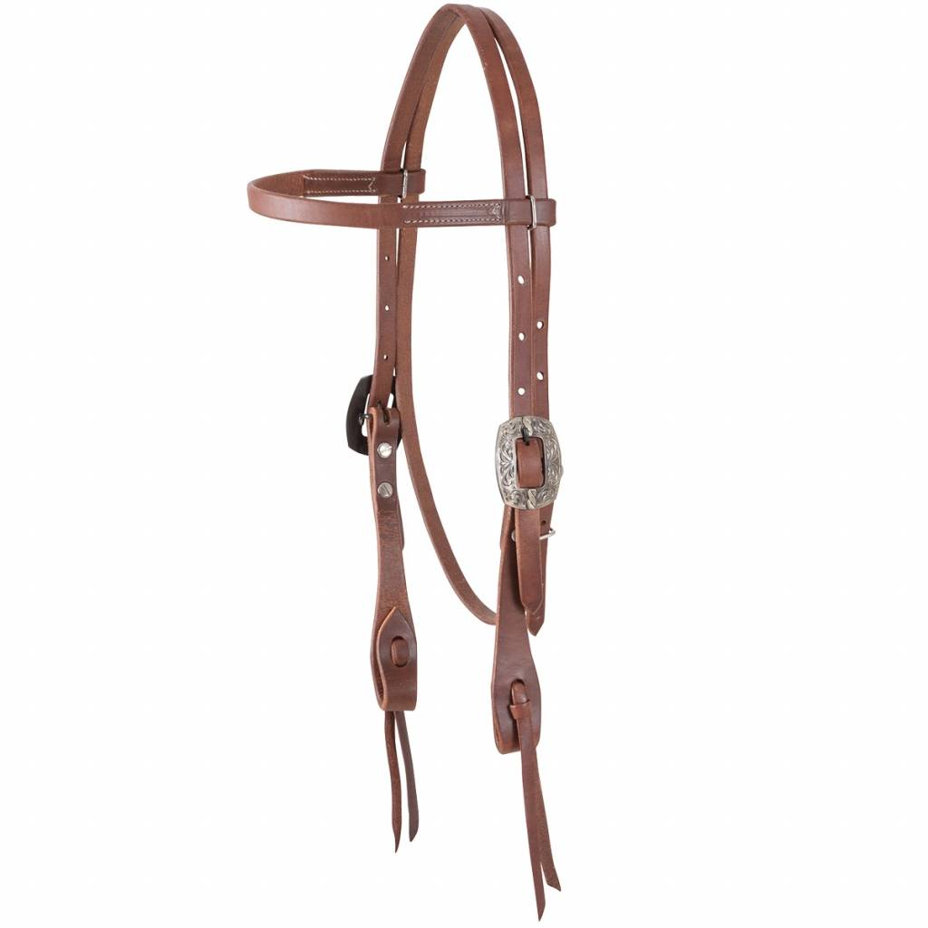 Martin Cowboy Splash Buckle Browband Headstall