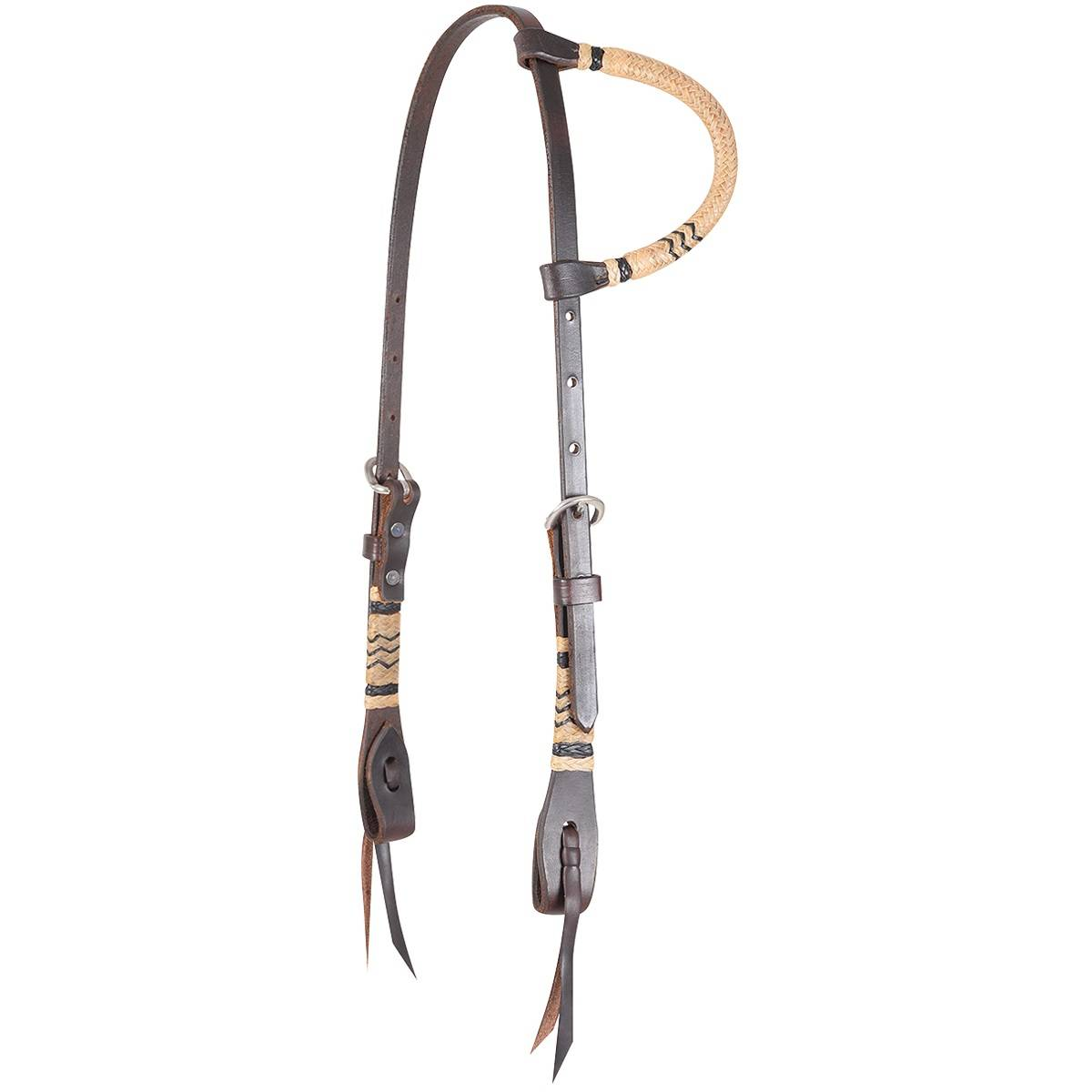 Martin Slip Ear Rawhide Braided Headstall
