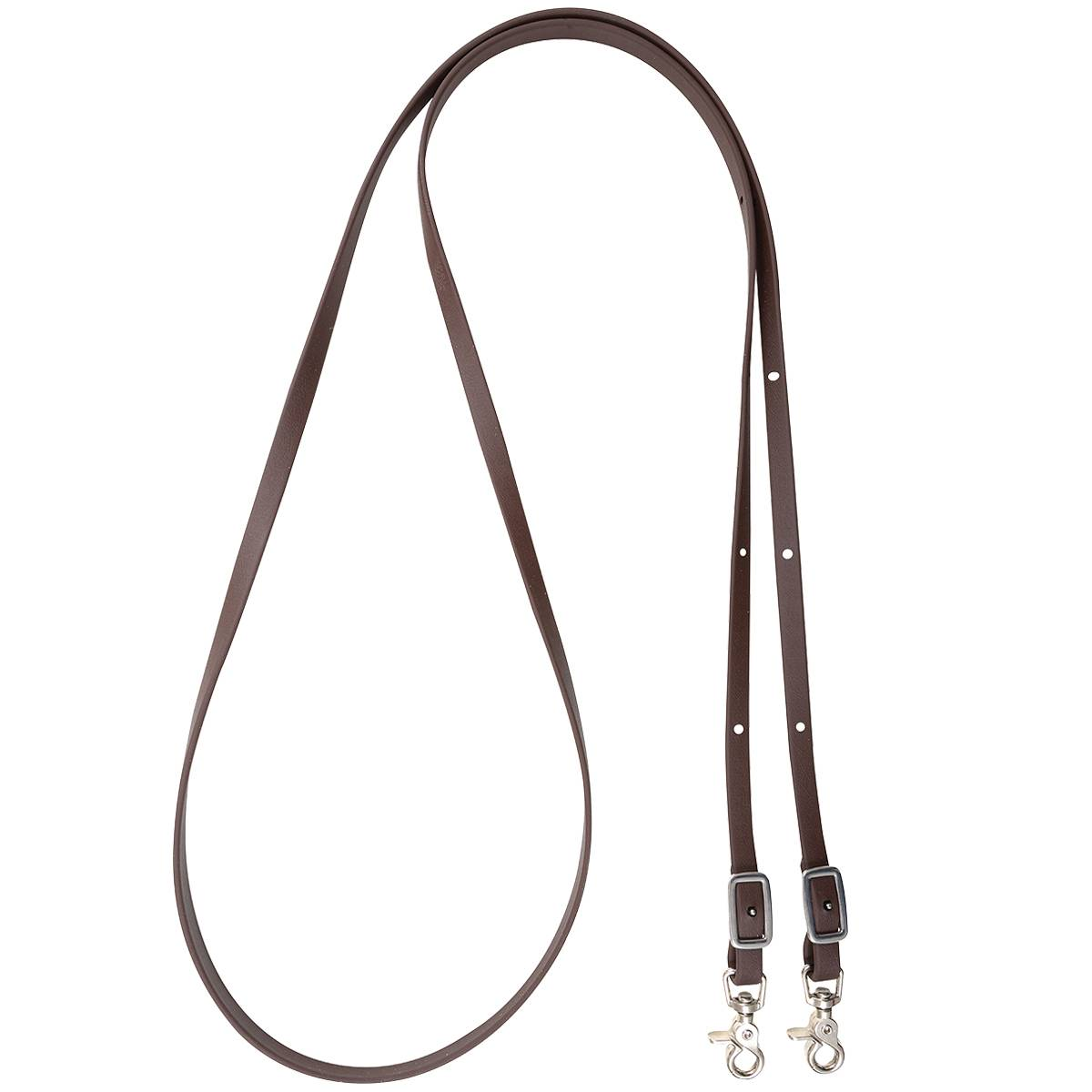 Martin Biothane Roping Rein- 5/8'', Brown