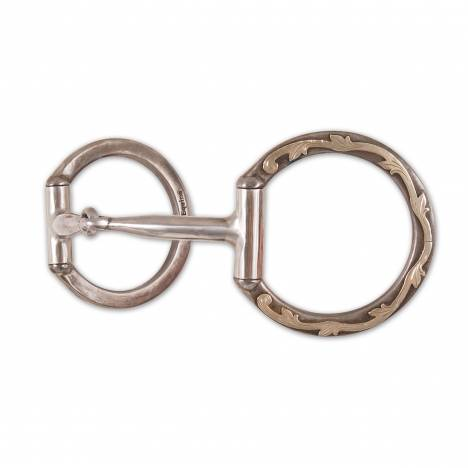 Classic Equine Professional Series D Ring Smooth Snaffle Bit