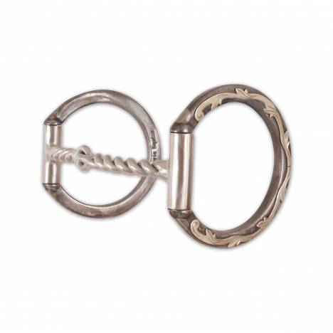Classic Equine Professional Series D Ring Twisted Wire Snaffle Bit