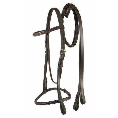 Treadstone Windeck Plain Raised Snaffle Bridle