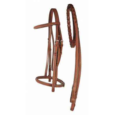 Treadstone Richtan Plus Pad Raised Fancy Stitched Bridle