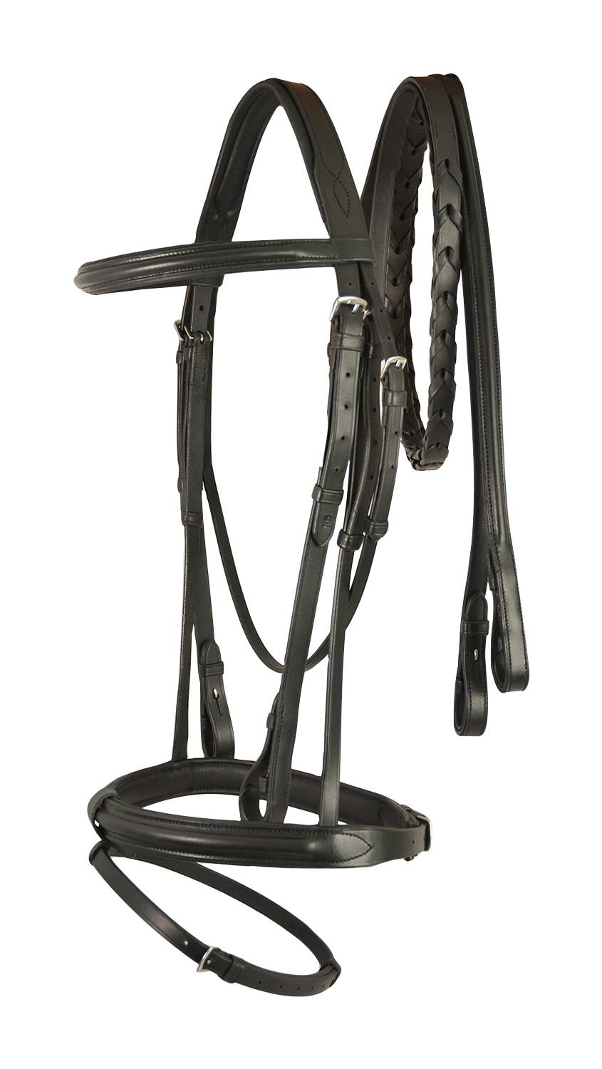 Treadstone Richtan Plus Padded Crown Bridle with Laced Reins
