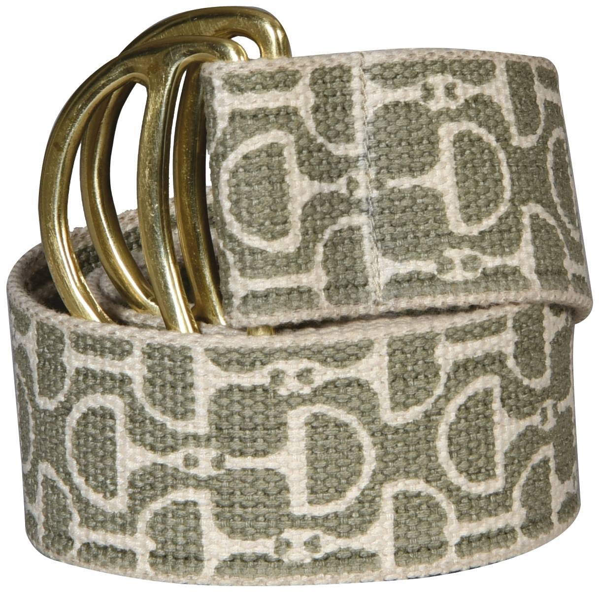 Equine Couture Designer Bit Cotton Belt - Ladies