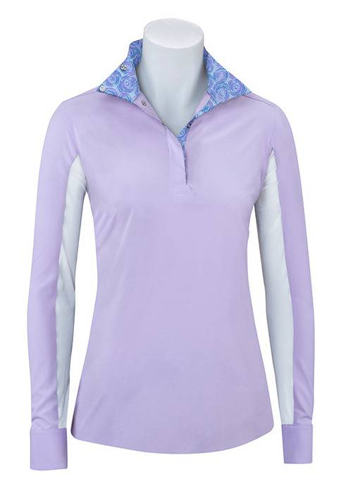 RJ Classics Prestige Paige Show Shirt - Ladies - Purple