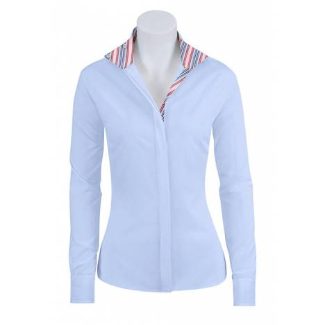 RJ Classics Essential Prix Jr. Show Shirt - Girls - Blue