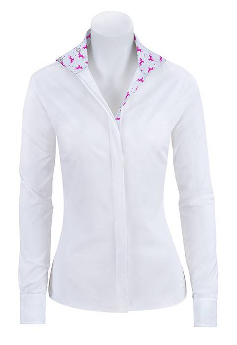 RJ Classics Prestige Prix Jr Show Shirt - Girls - Unicorns Trim