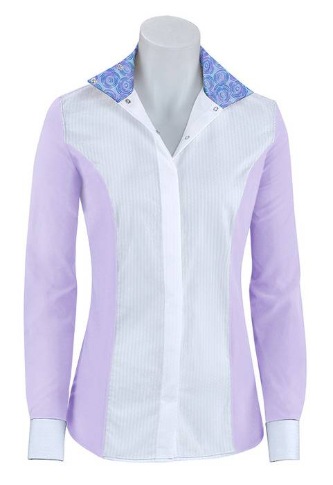 RJ Classics Prestige Linden Jr Show Shirt - Girls - Purple