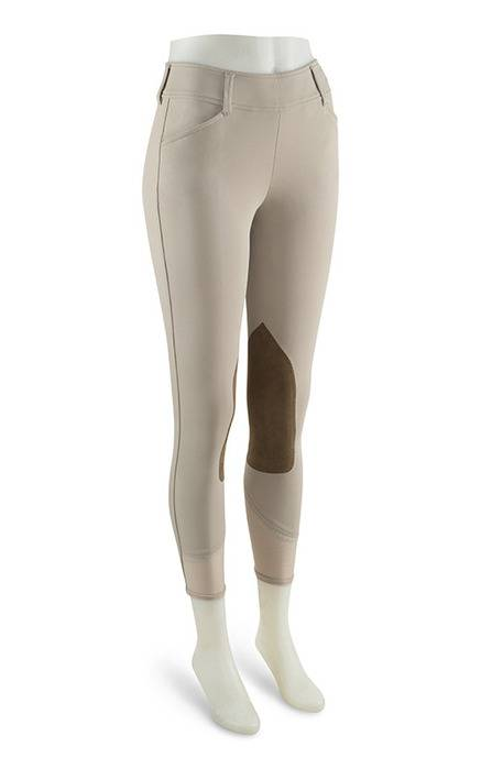 RJ Classics Prestige Belmont Side Zip Breeches - Ladies - Sand