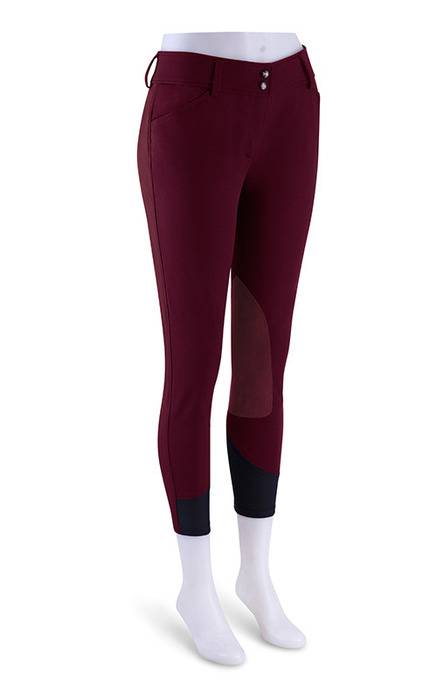 RJ Classics Prestige Gulf Low Rise Breeches - Ladies - EuroSeat - Merlot