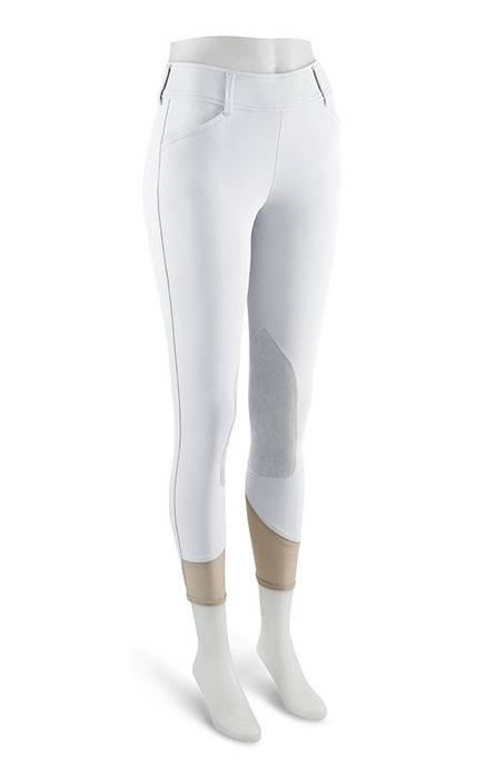 RJ Classics Prestige Belmont Side Zip Breeches - Ladies - White