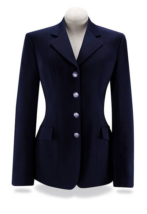 RJ Classics Xtreme Grey Label Palm Crossover Show Coat - Ladies, Navy