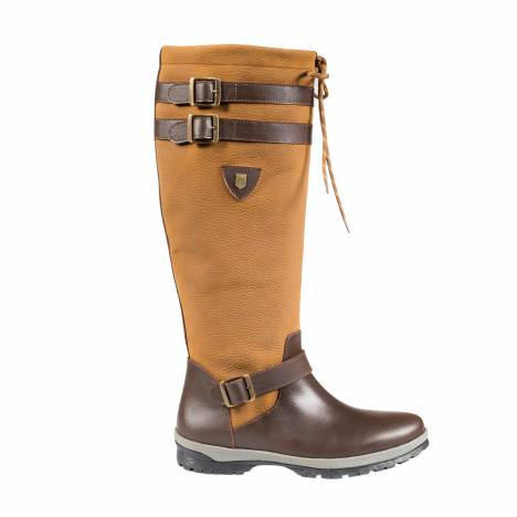 HorZe Crescendo Barron Lace-Up Waterproof Boots - Ladies - Brown
