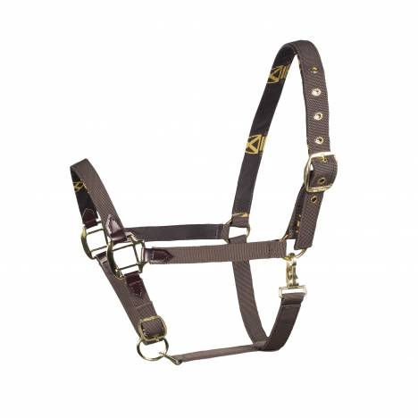 HorZe Crescendo Holbrook Halter - Dark Brown