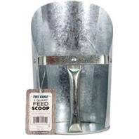 Free Range Galvanized Feed Scoop
