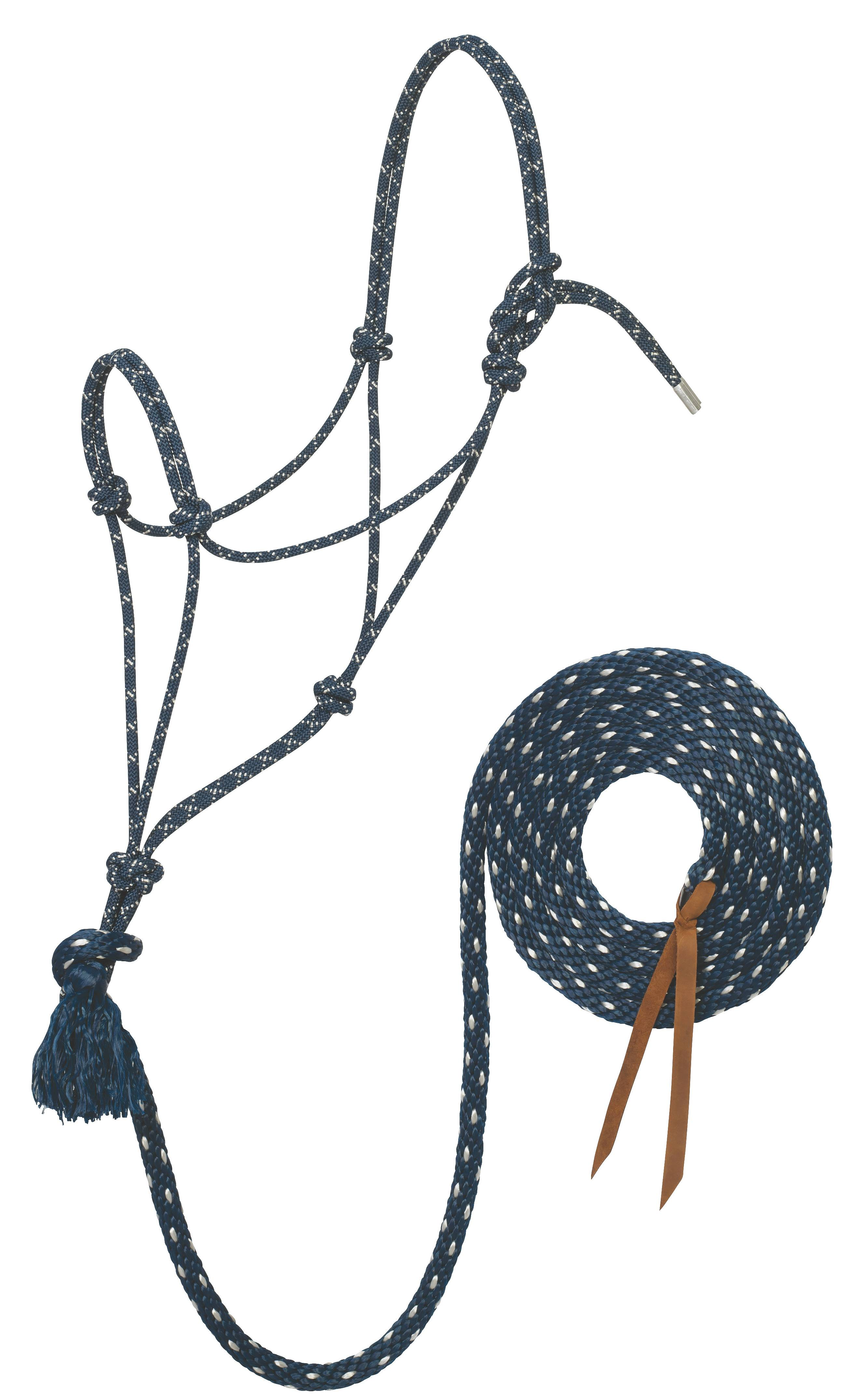 Weaver Silvertip #95 Rope Halter with 12' Lead