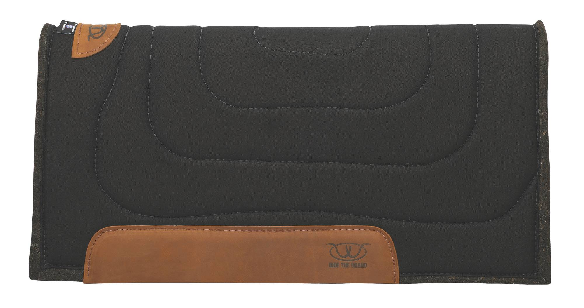 Weaver 32x32 Working Ranch Felt Saddle Pad - Solid Colors