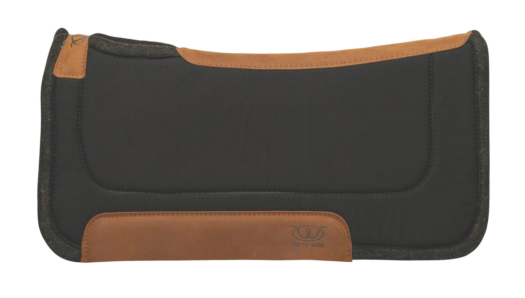 Weaver 32x32 Working Contoured Felt Saddle Pad - Solid Colors