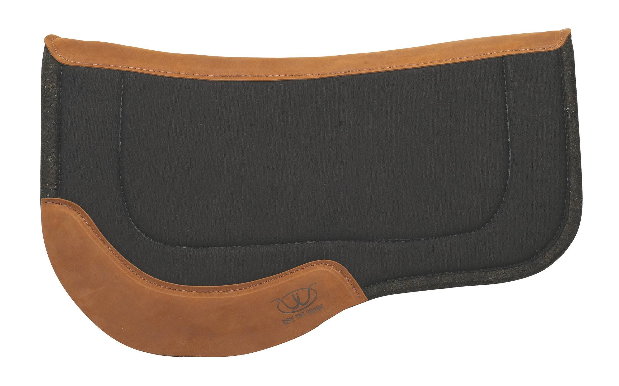 Weaver 29x34 Trail Gear Canvas Felt Bottom Saddle Pad - Solid Colors