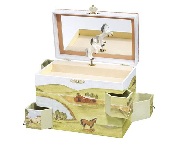 Enchantmints Hideaway Horse Musical Treasure Box