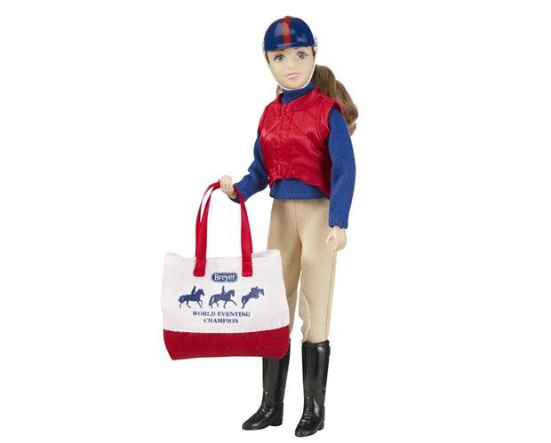 Breyer Traditional Series Tack Sarah, Eventing Rider - Ltd Ed