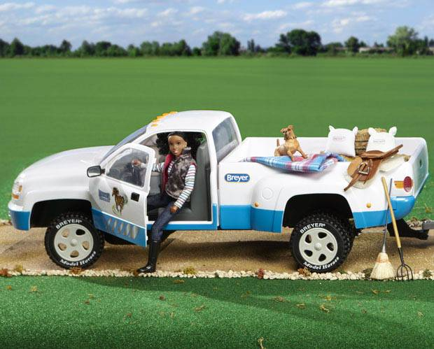 Breyer Traditional Series Tack Traditional ''Dually'' Truck