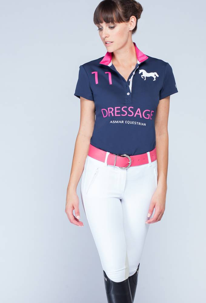 Asmar Dressage Limited Edition Continental Polo - Ladies