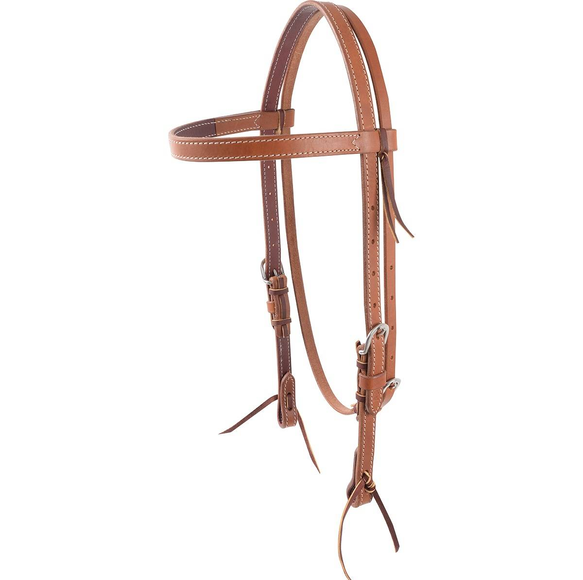 Cashel Lined Harness Leather Browband Headstall