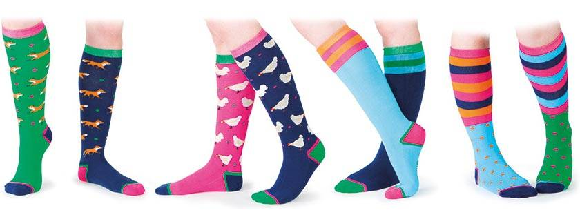 Shires Ladies Everyday Socks - Spots