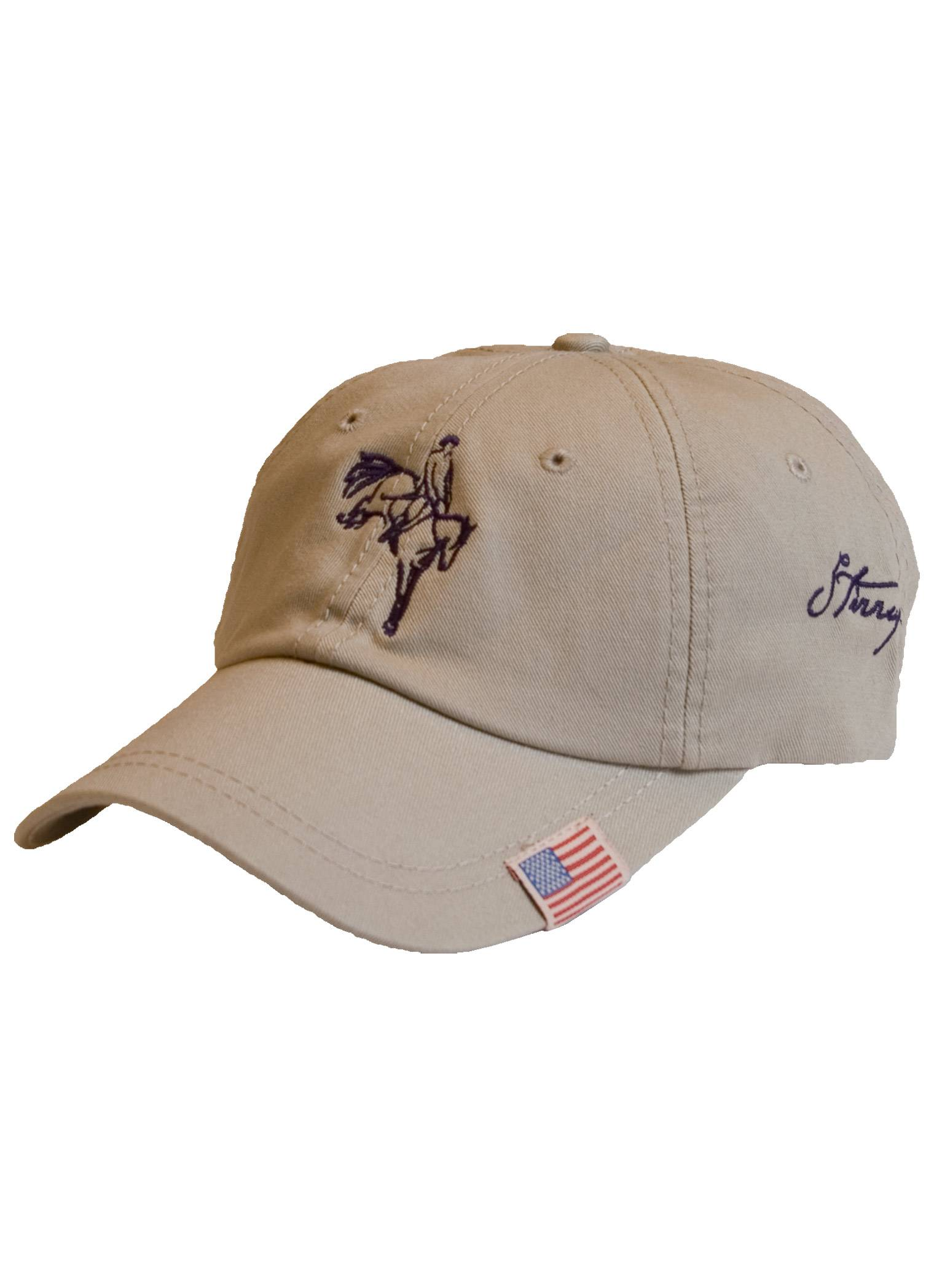 Stirrups Eventing Jumping Horse Cotton Twill Cap- Ladies