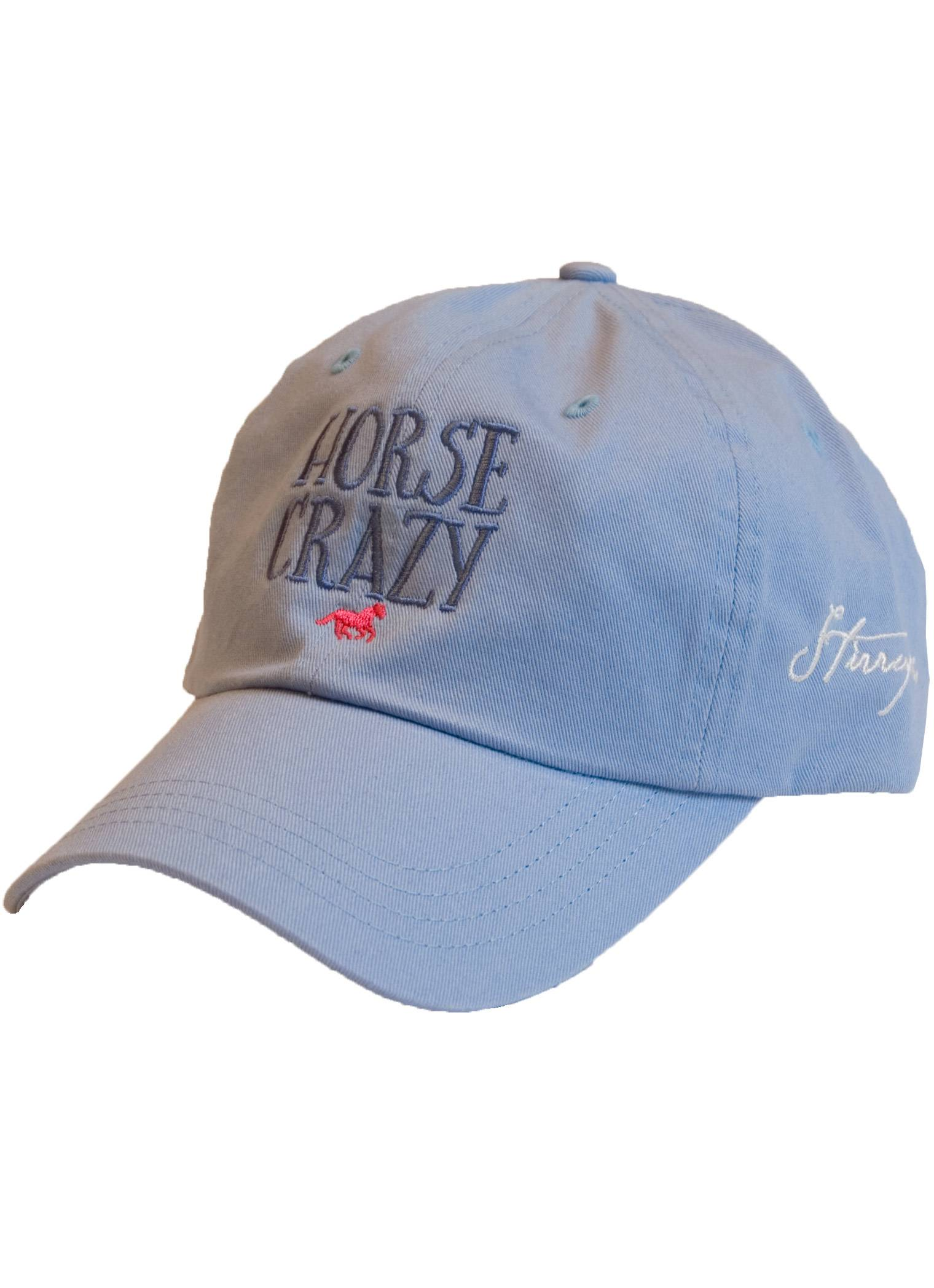 Stirrups Horse Crazy Garment Washed Cap- Ladies