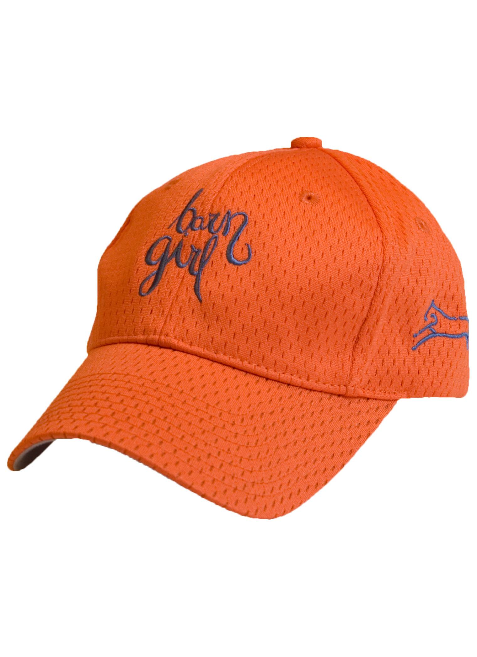 Stirrups Barn Girl Embroidered Wicking Adjustable Cap Youth