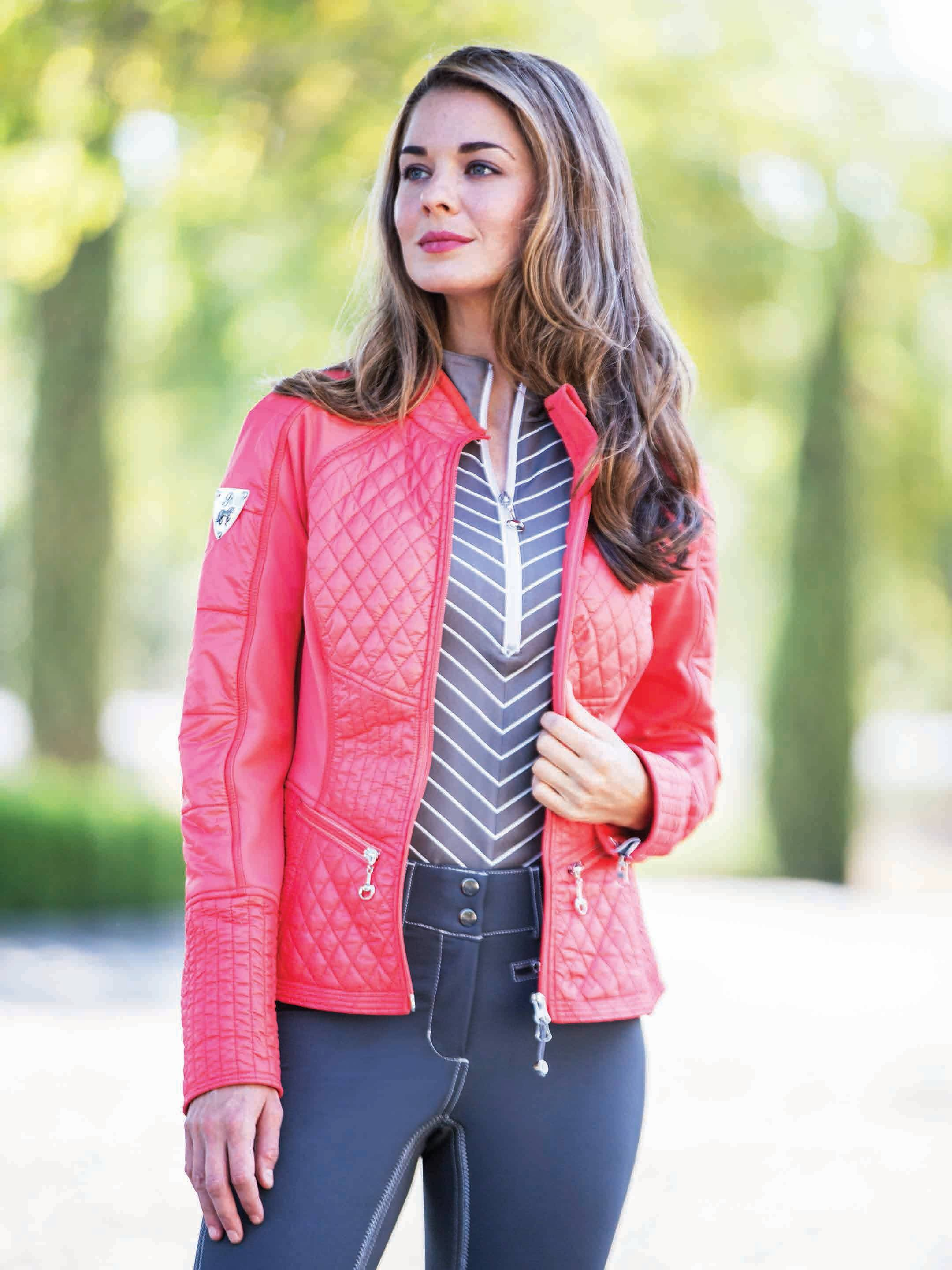 Goode Rider Action Jacket - Ladies - Poppy