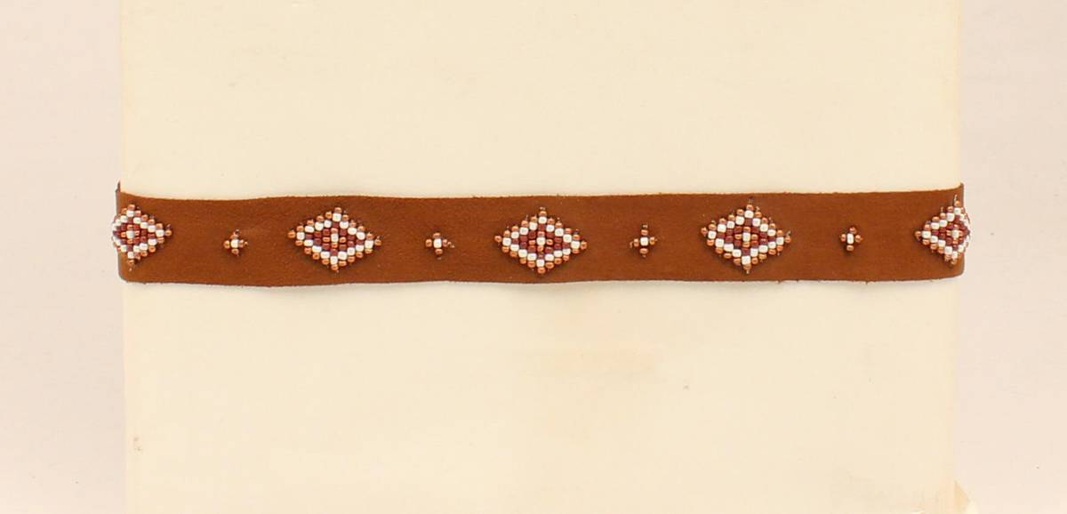 Blazin Roxx Beaded Diamond Headband