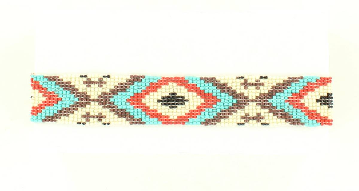 Blazin Roxx Beaded Geo Headband