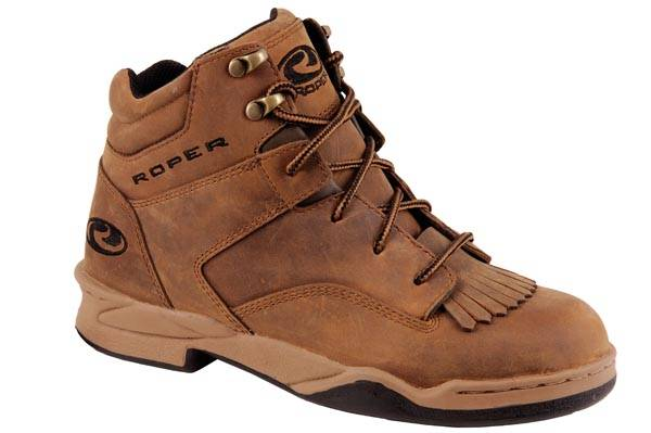 Roper Classic Original Horseshoe Kiltie Oiled Leather Shoe- Men's