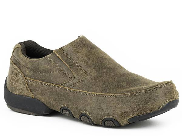 Roper Country Cruisers Slip On Driving Moccasin- Men's