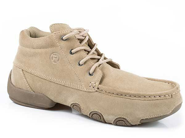 Roper High Country Cruisers Suede Driving Moccasin- Men's