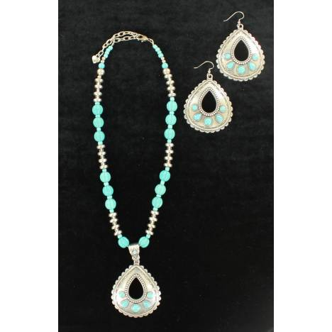 Blazin Roxx Teardrop Jewelry Set