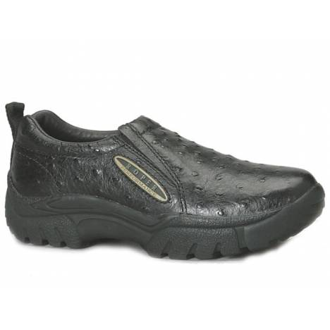 Roper Performance Sport Faux Ostrich Slip On Shoe- Mens