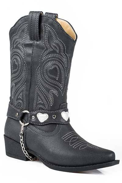Roper Dale Narrow Toe Fashion Western Boot- Girl's