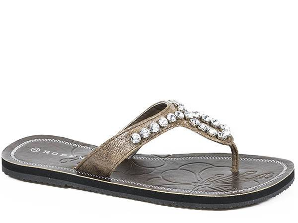 Roper Crystaline Sandal- Ladies