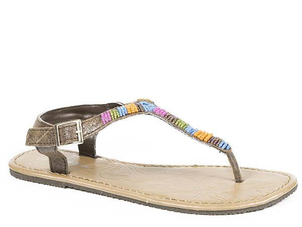 Roper Multi Bead Sandal- Ladies