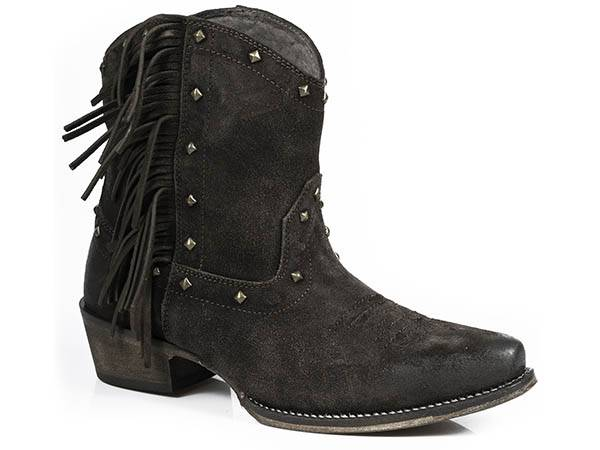 Roper Sassy Fringe Ankle Boot- Ladies