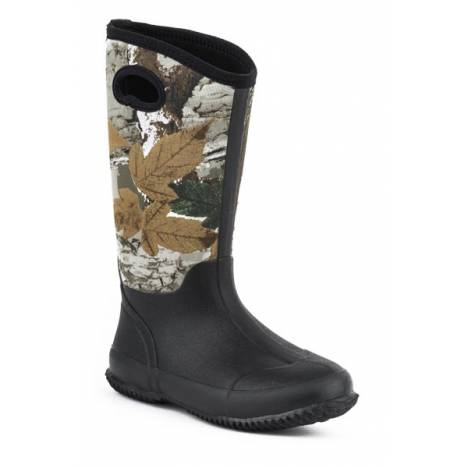Roper Barnyard Camo Neoprene Tall Barn Boot- Ladies